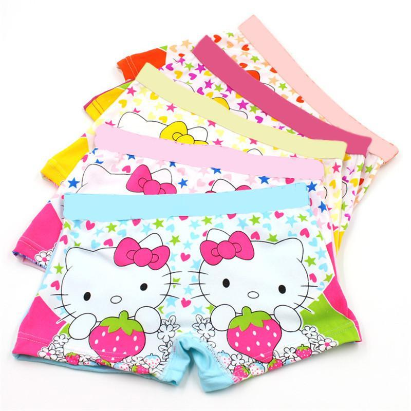 Baby Shorts 5Pcs/Lot 3-11 years panties underwear pants briefs Cuteanzellina.myshopify.com