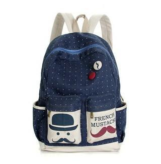 Backpacks Famous Beard Casual MI6544 School-GKandaa.net