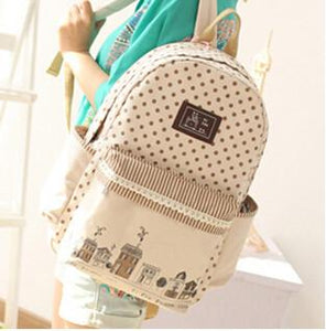Backpacks 43*29*14cm Canvas School-GKandaa.net