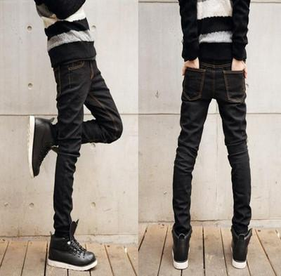 Men's Jeans Cool Stylish Pencil pants l Straight Slim Fit 2 Colors-GKandaa.net