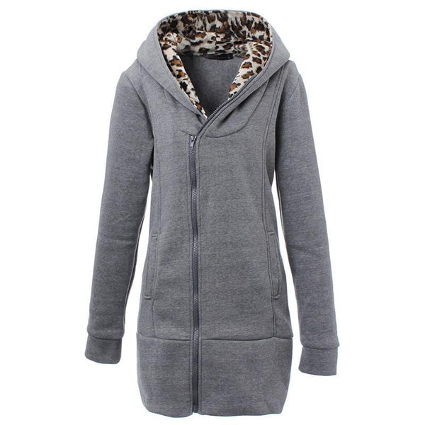 Women's Jackets Coat Sleeve Zipper Outwear-GKandaa.net