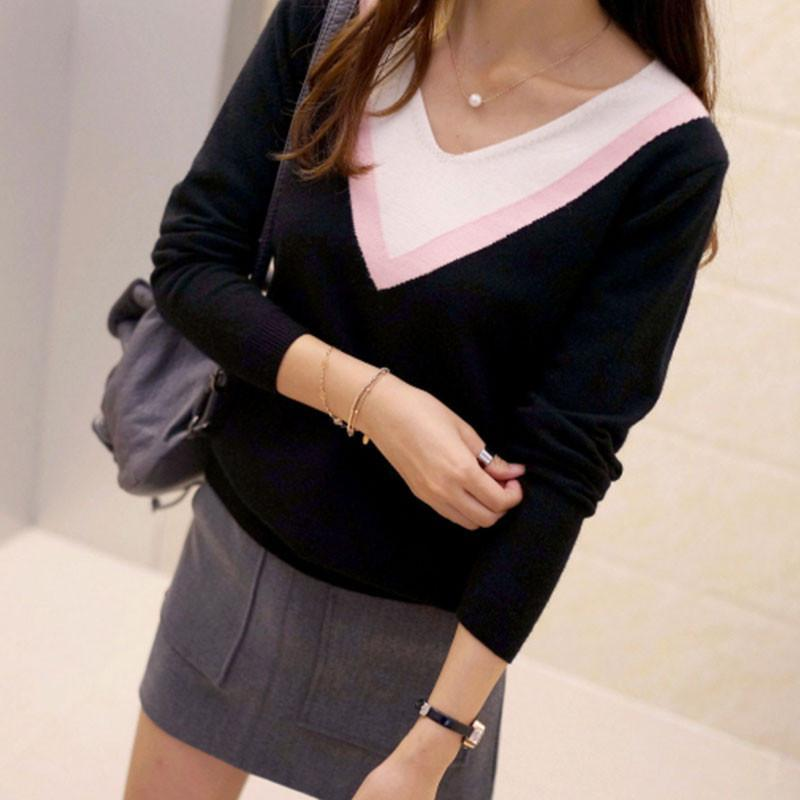 Women's Pullovers high quality shirt long-Sleeve sweater-GKandaa.net