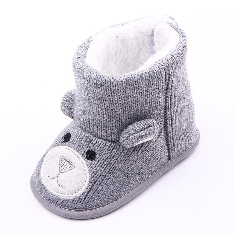 Baby Shoes Winter warm lovely 0-1 years olds-GKandaa.net