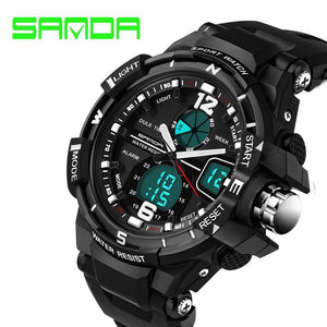 Men's Watches LED Sports Military Quartz Digital-GKandaa.net
