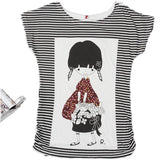 Top Selling Womens Clothes Fashion Vintage Spring Summer Short Sleeve Animal Printed Girls Cotton Female Women T-shirt - GKandAa - 19