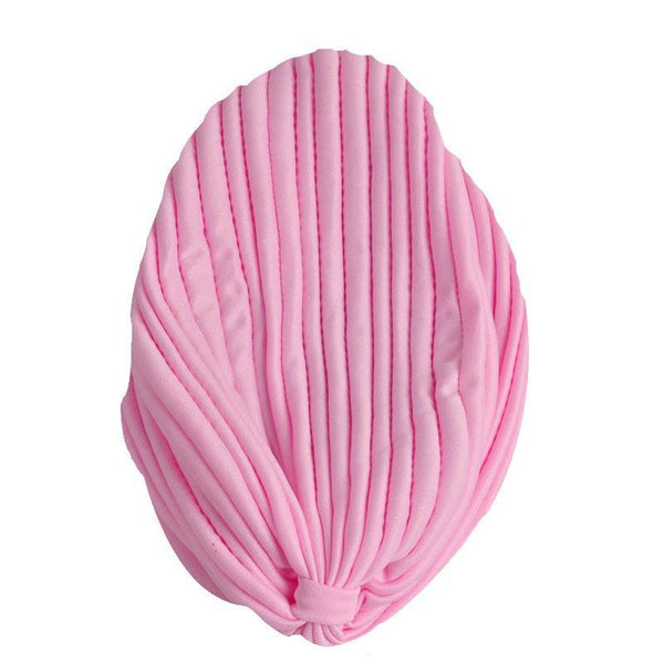 Women's Beanies Warm 13 Colors 1pcs Pleated Elastic hat-GKandaa.net