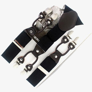Men's Belts casual Adjustable 6 clip Strap 7 colors-GKandaa.net