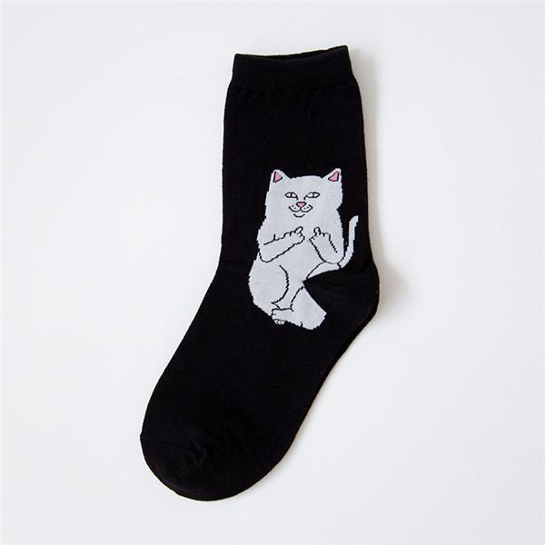 Men's Socks Casual Cat cotton 40-43-GKandaa.net