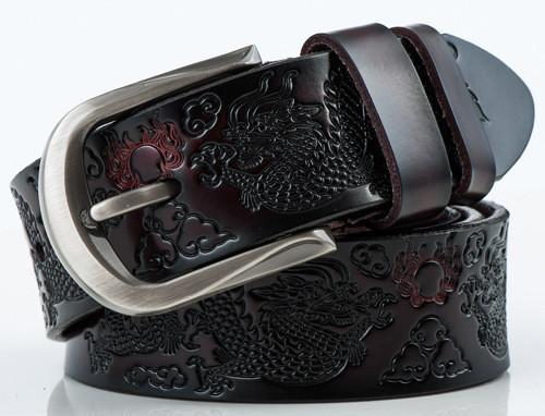 Men's Belts vintage Luxury Real Leather-GKandaa.net