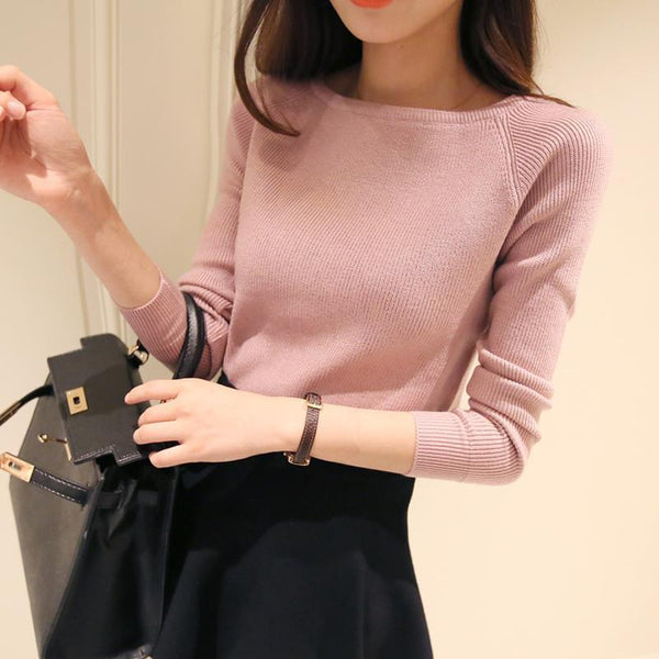 Women's Pullovers cashmere fashion sweater-GKandaa.net