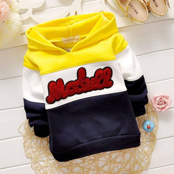 Baby Sweatshirts Outwear With Hooded coat S1923-GKandaa.net