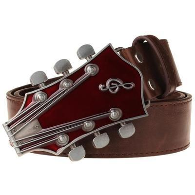 Men's Belts Retro guitar Street Dace apparel-GKandaa.net