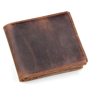 Men's Wallets luxury real 100% genuine Leather with coin pocket-GKandaa.net