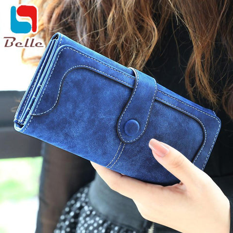 Women's Wallets leather luxury clutch long-GKandaa.net