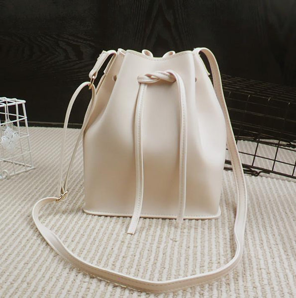 Bucket bag Louis famous fashion shoulder PU material-GKandaa.net