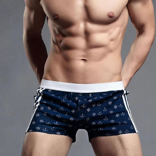 Men's Underwear Boxer Gay Pouch-GKandaa.net