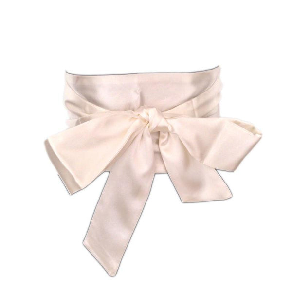 Women Belt 13cm Wide Sash Wrap Tie Lady wedding girdle 4 colors-GKandaa.net
