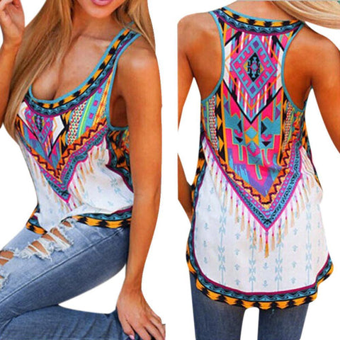 T-shirts For Women Moda feminina Sleeveless Shirt Fashion Tops Blusa big size Female T-shirt Free shipping Feida - GKandAa