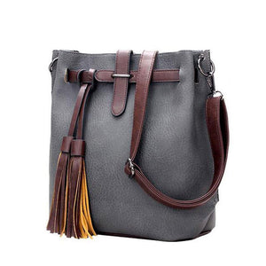 Bucket bag PU Leather vintage Shoulder-GKandaa.net
