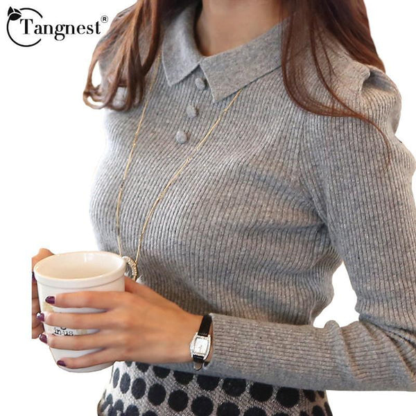 Women's Pullovers TANGNEST Spring Color WZM1069 sweater-GKandaa.net