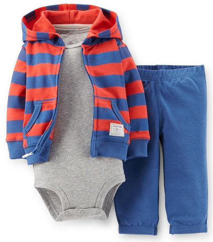 Baby Sweatshirts Clothing Sets Bodysuits Carter hooded + pants-GKandaa.net