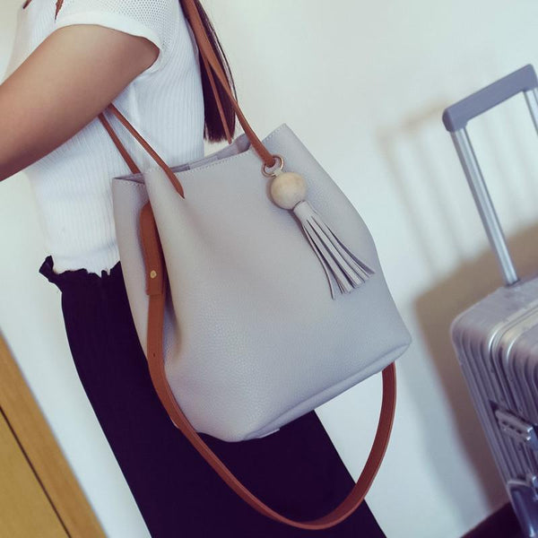 Bucket bag Soft Shoulder-GKandaa.net