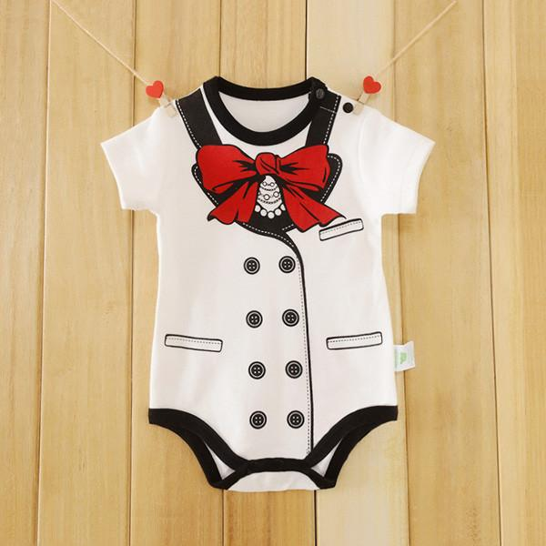 Baby Bodysuits One Pieces Short Sleeve Overalls Toddlers-GKandaa.net