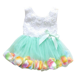 Baby Dress Toddler Party lace Bow-GKandaa.net