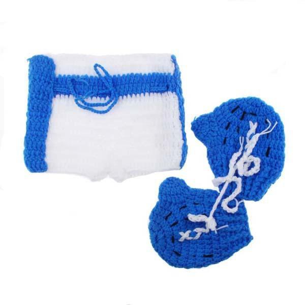 Baby Shorts boxing Gloves Set Boxer baby Shower Gift 3 Colors H206-GKandaa.net