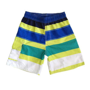 Baby Shorts fashion color striped casual beach-GKandaa.net