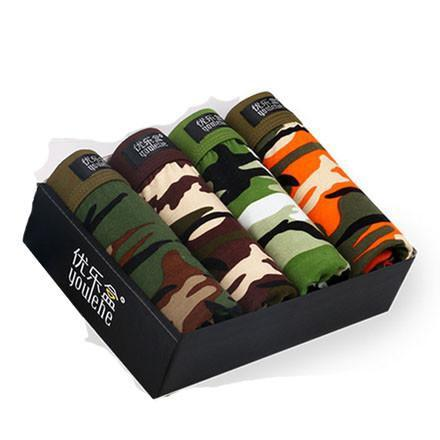 Men's Underwear 4pcs Lot Modal Gift box-GKandaa.net