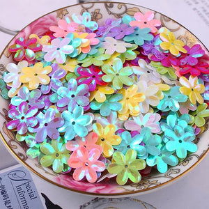 Art Supplies 500 pcs/ 50 gram 15mm Six-petals Diy With 10-GKandaa.net