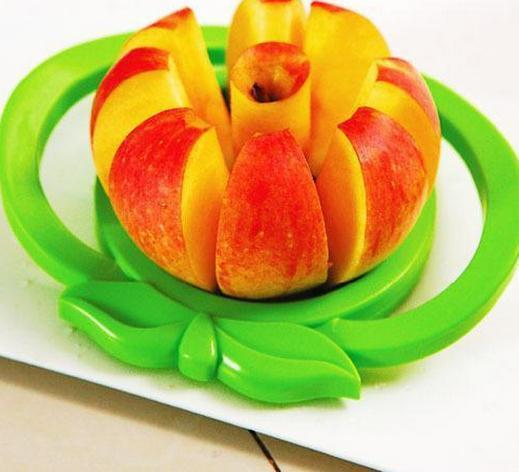 Brand new Apple cutter knife Corer Slicer Divider Fruit Knife For Apple Pear Stainless Healthy Safe ABS Kitchen Dining Bar tool - GKandAa