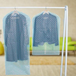 Transparent Dot Clothing Dust Cover Skirt Hanger Hanging Waterproof Washable Household Merchandises Accessories Supplies Product - GKandAa - 1