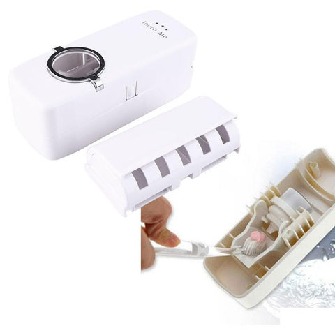 Bathroom Accessories Auto Automatic Toothpaste Squeezer dispenser +5-GKandaa.net