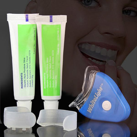 White LED Light Teeth Whitening Gel Teeth Light Personal Dental Treatment-GKandaa.net