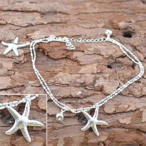 Women's Anklets Star Bracelet For Ankle-GKandaa.net