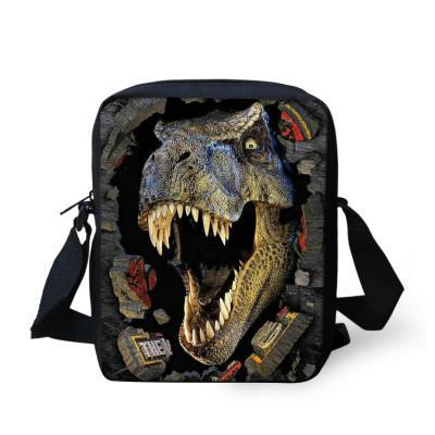 Backpack Trendy Cool School Dinosaur Print Kindergarten-GKandaa.net