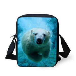 Backpack 3D Bear School Kindergartenanzellina.myshopify.com