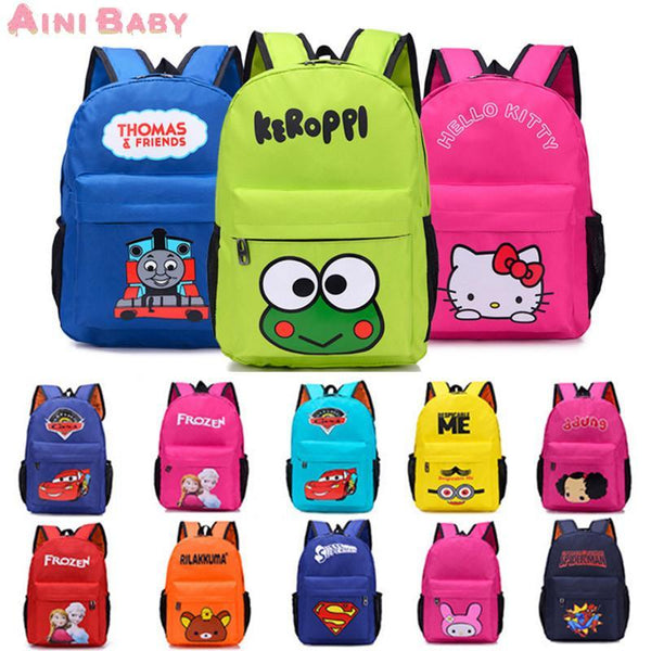 Backpack cartoon Kid School Kindergarten Student School-GKandaa.net