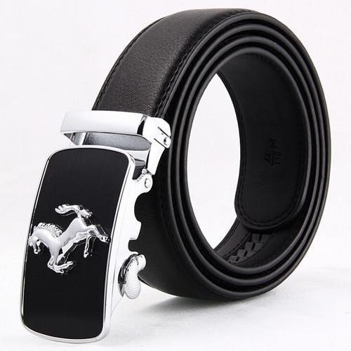 Men's Belts Gold horse casual automatic-GKandaa.net