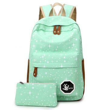 Backpacks Canvas Softback school bag for teenagers-GKandaa.net