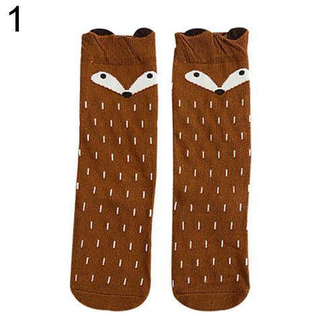 Women's Socks Fox Soft cotton-GKandaa.net