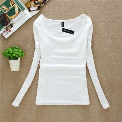 Women T-Shirt Top long Sleeve fashion shirts-GKandaa.net