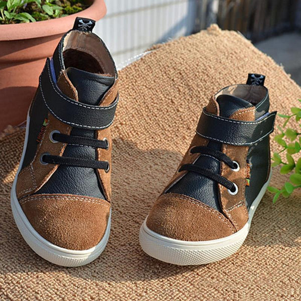 Boys Shoes, Leather Cowhide cotton winter Snow - GKandaa.net