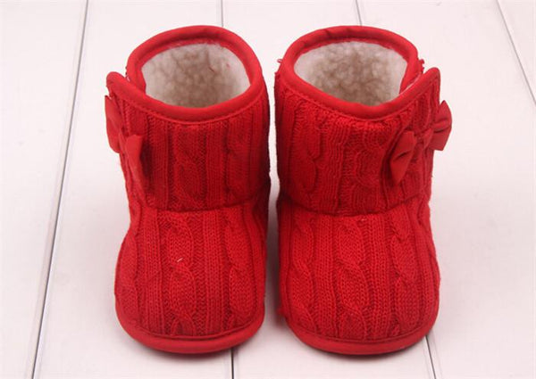 Baby Shoes 1 Pair Snow Boots Crib Shoes Toddler Fleece c Boots-GKandaa.net