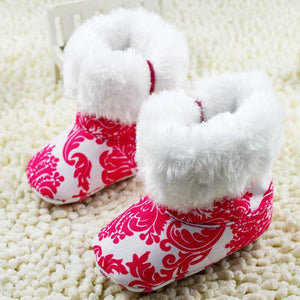 Girls' Winter Boots Super Infant Shoes Red-GKandaa.net