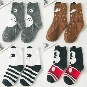 Baby Socks 4 Apposite Cute 1pair 1-10Y-GKandaa.net