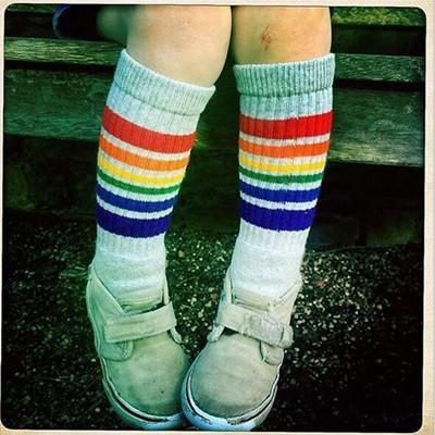 Baby Socks High winter Sport Kid Terryanzellina.myshopify.com