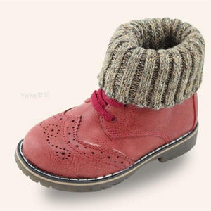 Girls' Winter Boots Crush  Toddler Leather Unisex-GKandaa.net
